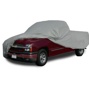 Fit Gmc Waterproof Outdoor Breathable Cotton Inlay Pickup Truck Car Cover