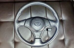 Jdm 00 05 Toyota Celica Gts Oem Srs Steering Wheel 2zz Mr2 Mrs Supra Matrix