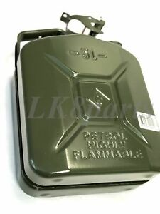 Valpro European Military Spec Nato Style Steel Jerry Can 5l 1 25 Gal Gjc05