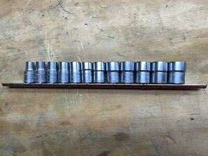 Mac 12pc Metric Spherical Splined 3 8 Dr Shallow Socket Set Sxm12sbr