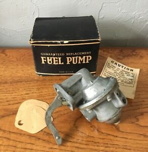 Hudson Terraplane Fuel Pump 1934 35 36 Nos 6 8 Cyl Part Number Gs213 Made In Usa
