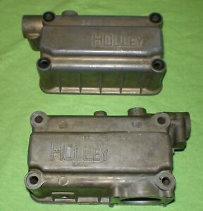 Holley 1850 Primary Secondary fuel Bowls With floats