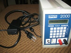 Xitron Technologies 2000mn V a t Portable Dc Calibrator And Temperature Source