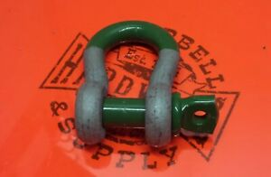 Super Strong Clevis Van Beest Screw Pin 1 Bow Shackle Sling Wire Rope 12 5 Ton