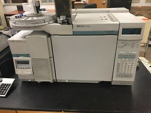 Hp agilent 6890 Gc With 5973n Inert Msd And 7673 Injector Excellent Conditions
