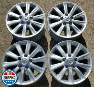 Lexus Lx570 2008 2011 Oem Factory Wheel Set 20 Rims 74212 Silver s