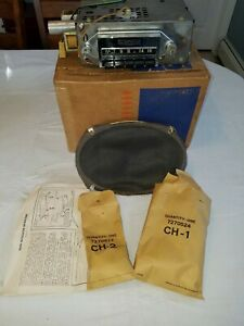 Nos 1958 Chevrolet Impala Bel Air Custom Deluxe Radio 987727 May Fit Other Yrs