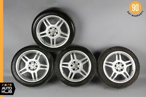 Mercedes R170 Slk32 C32 Amg Clk320 7 5 8 5 X 17 Wheel Rim Rims Set Of 4 Oem