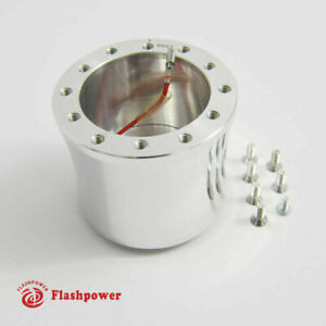 Flashpower Steering Wheel Adapter 6 Bolt Billet Polsihed For Vw Beetle