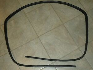 Suzuki Sidekick Geo Tracker Soft Top Rubber Seal Weather Strip Oem