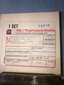 T b 15510 Crimper Die Set Thomas Betts New