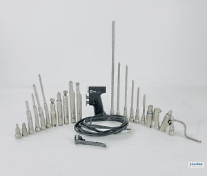 Stryker Core Electric Surgical Drill Set With 5 Drills Attachments More