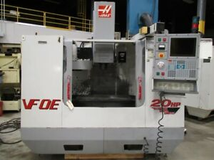 Haas Model Vf 0e Vertical Machining Center With Haas Control 30 X 16 X 20