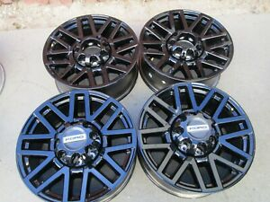 20 Ford F250 F350 Factory Wheels Rims Black Oem 4