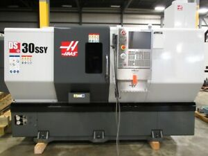 Haas Model Ds 30ssy Dual Spindle Super Speed Cnc Lathe With Live Tooling Y axis