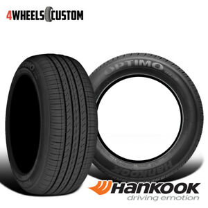 2 X New Hankook Optimo H426 215 45r17 87h Premium Performance Tire