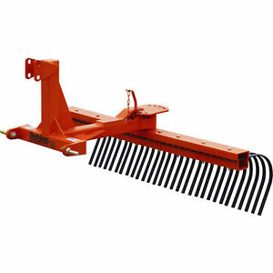5 Rock Landscape Rake Attachment Category 1 Pins Category 0 Spacing