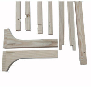Model T Ford Body Wood Kit Complete With Seat Frames Built As Units Coupe