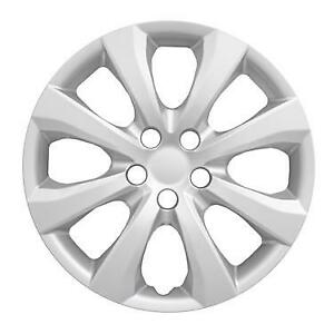 New 2020 Toyota Corolla 16 8 Spoke Silver Hubcap Wheelcover