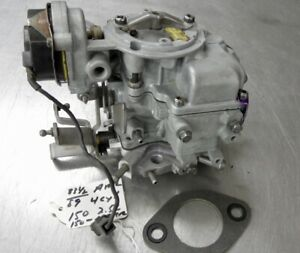 Oem Jeep Cj Carburetor Amc 4 Cyl 150 2 5l 1983 1 2 1989