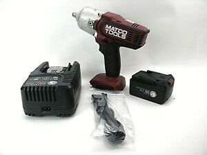 Matco Tools 1 2 Impact Wrench 20v Li Ion Mcl2012hpiw W Charger Battery I1