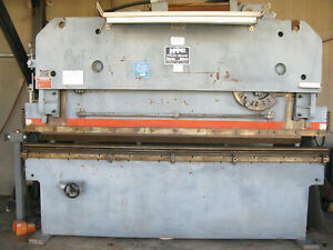 Hydra tool Htc 100 Ton 10 Ft Hydraulic Press Brake 460v Ph3 60 Hz 100 10h