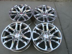 20 Gmc 1500 Denali Sierra Factory Wheels Rims Chevy