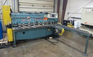 Amada 6 X 3 16 Mechanical Shear Am19561