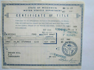 1942 Ford 2 Door Barn Find Historical Document