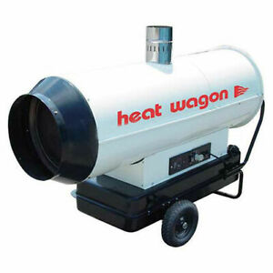 Heat Wagon Oil Indirect Fired Heater 205k Btu Ductable