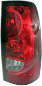 Tail Light For 2004 2006 Chevrolet Silverado 1500 Rh Fleetside Black Trim