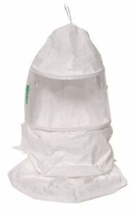 Bullard Double Bib Hood Universal White For Use With Papr Or Supplied Air