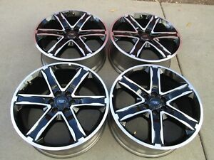 22 Ford Expedition F 150 Oem Factory Alloy Wheels Rims Black New Take Offs