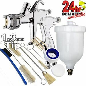 Devilbiss Flg g5 1 3mm Paint Spray Gun With 13 Piece Cleaning Kit