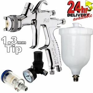 Devilbiss Flg 5 1 3mm Paint Air Spray Gun Air Filter Pressure Regulator