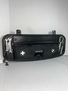 04 10 E60 Bmw 530 525 First Aid Kit Lug Wrench Tow Hook Emergency Trunk Tools
