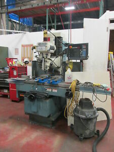 Swi Trak Dpm5 Smx Control 3 axis 220v 3ph 5hp Milling Machine New 05 W kurt Vise