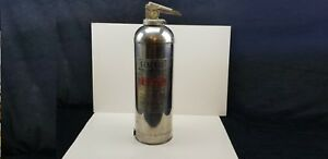 Vintage General Water Anti Freeze Fire Extinguisher 1959 Stainless Steel Ws 600