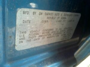 Manual Transmission 5 Speed Fits 04 08 Aveo 205691