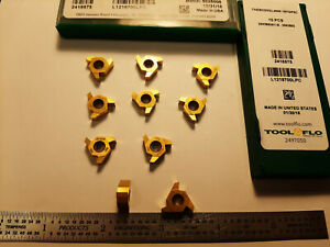 Tool flo Tneb33ngl40w 187gp5c Carbide Inserts 10 Pcs Made In Usa