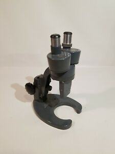 Bausch And Lomb Vintage Microscope With 10x Eyepiece