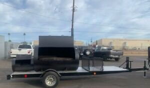 Catering Bbq Smoker Trailer 22ft Long