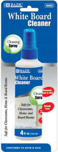 Bazic 4 Oz White Board Cleaner Case Pack 12