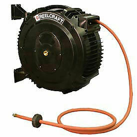 Retractable Composite Reel Hot Water Hose 1 2 X 50ft 138 Psi