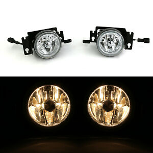 2pcs Fog Light For 99 00 Honda Civic Clear Lens W Bulbs Switch Relay Wire