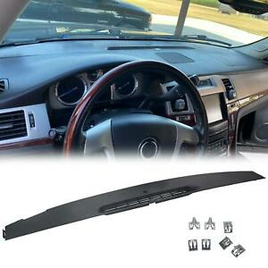 Upper Dash Front Section Trim Panel For 07 13 Chevrolet Gmc Replace 23224733