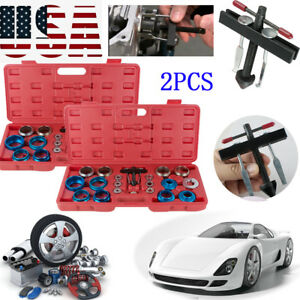 2xbearing Crank Cam Shaft Oil Seal Remover Installer Installation Kit Machine Us