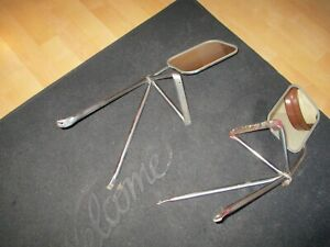 Vintage Pair Gm Gmc Chevy Truck Towing Mirrors Ford Dodge