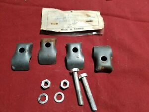 1928 1929 1930 1931 Ford Model A Front License Plate Clamp Set A 13145 S