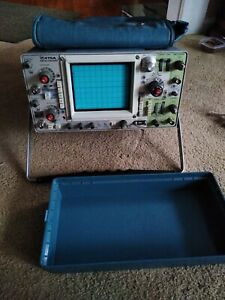 Tektronix 475a Dual Channel Oscilloscope As Is For Parts Or Repair